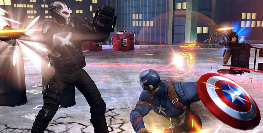 Marvel Heroes : Civil War – Phase 1