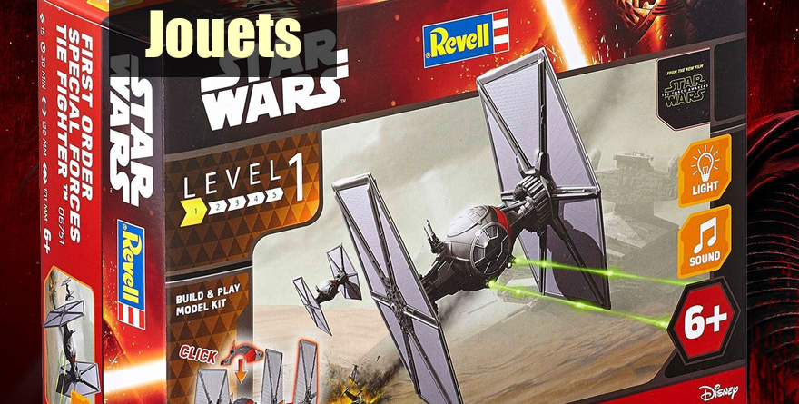 Maquette Revell «Star Wars: First Order Special Forces Tie Fighter» – Level 1