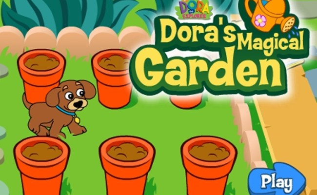 Dora S Magical Garden Game Dora The Explorer Games