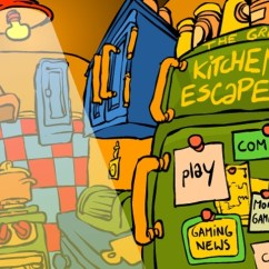Kitchen Game Cost Of Remodelling A The Great Escape Mystery Games Loon