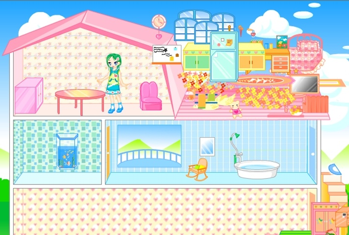 Dollhouse Decoration Games Free Online