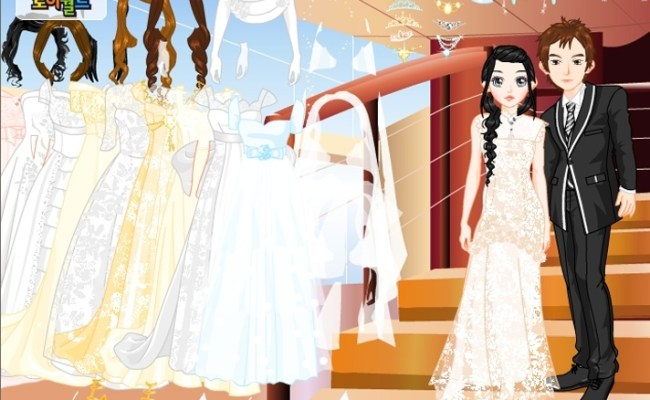 Bride And Groom Dress Up Game Wedding Games Games Loon