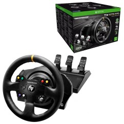 Steering Wheel Pc 2016 Kenworth T660 Wiring Diagram Thrustmaster Tx Racing Leather Edition With T3pa