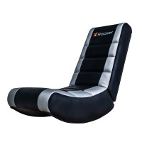 X Rocker Silver Video Rocker Gaming Chair | The Gamesmen