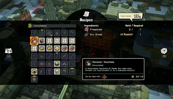 Dragon Quest Builders 2 Food Recipes