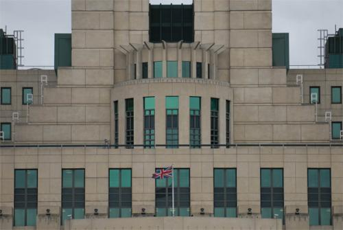 MI6 Building: Also known as the British Secret Intelligence Service Building at Albert Embankment in London