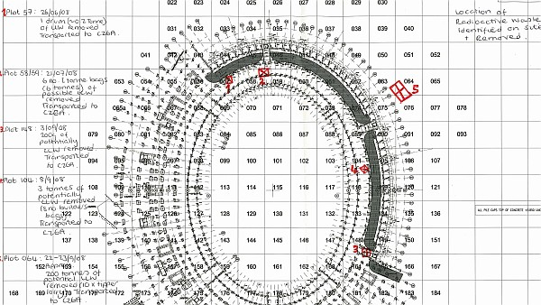 Olympic stadium radioactivity plan