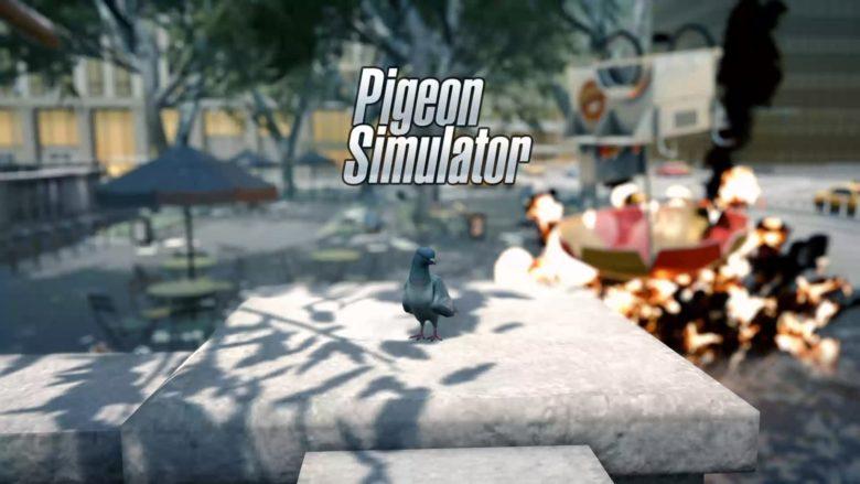 pigeon simulator looks dove