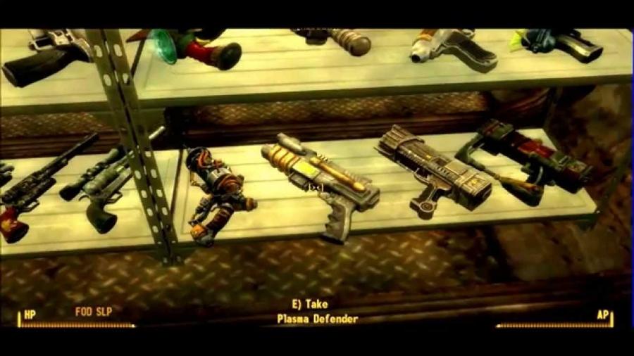 Fallout New Vegas  Unique Weapons  Gamespeditioncom