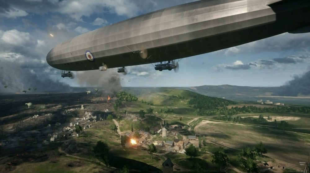 Battlefield 1 Fighter Planes Airships And Armoured