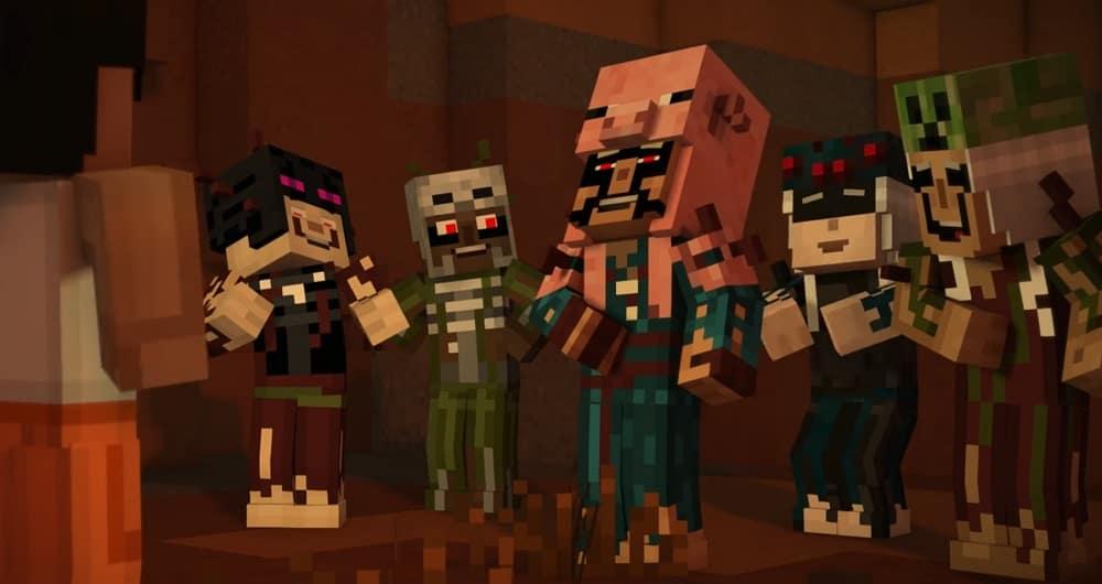 Minecraft Story Mode Season 2 Episode 4 Below The