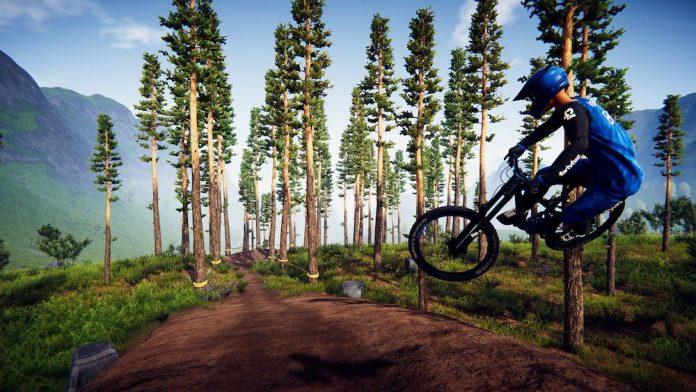 mountain biking game descenders