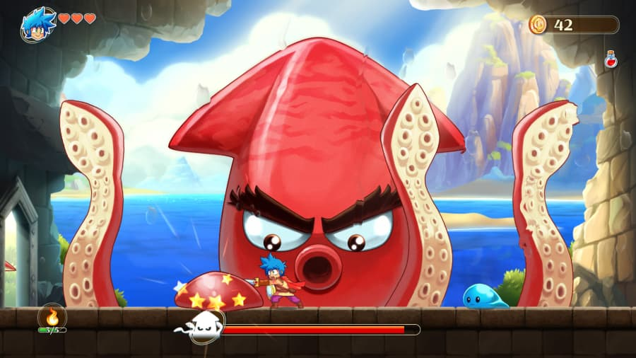 Monster Boy And The Cursed Kingdom Review Gamespew