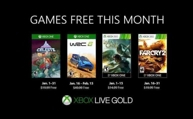 Here S Your Xbox Live Gold Games For January Gamespew