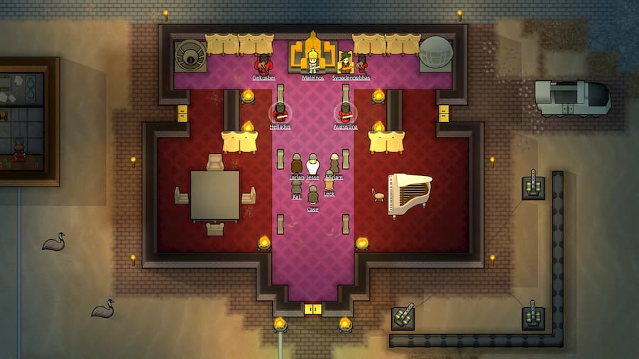How To Make A Dignified Throne Room In Rimworld Royalty Gamespew