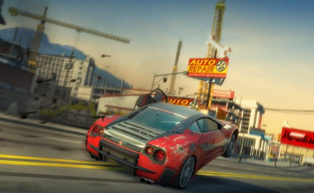 Burnout Paradise Playstation 4 2018