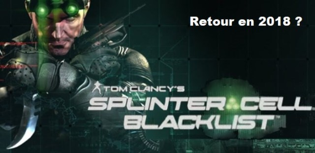Splinter Cell de retour à l'E3 2018