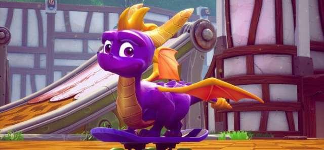 Spyro trilogie PS4