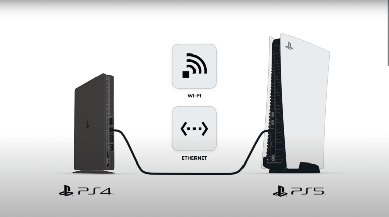 ps4 vers PS5