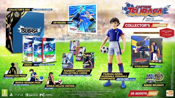 captain tsubasa rise new champions collector edition