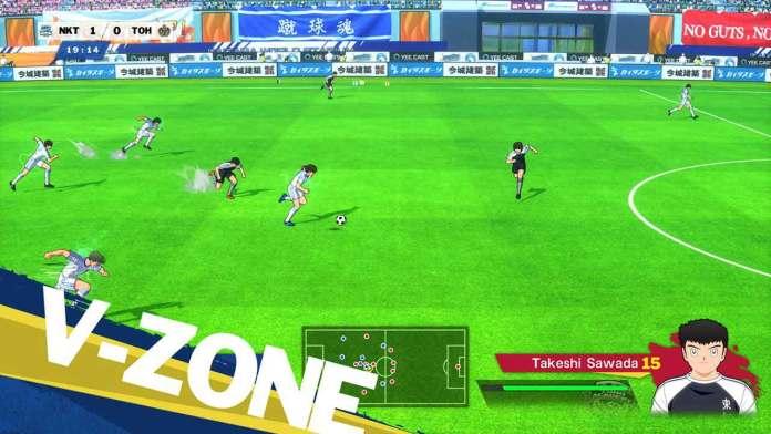 captain tsubasa rise new champions gameplay