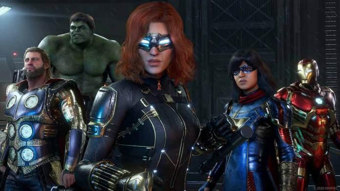 marvel avengers roster