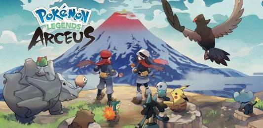 Pokémon Legends Arceus gameplay
