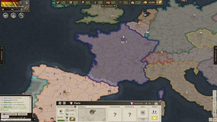 Call of War gameplay