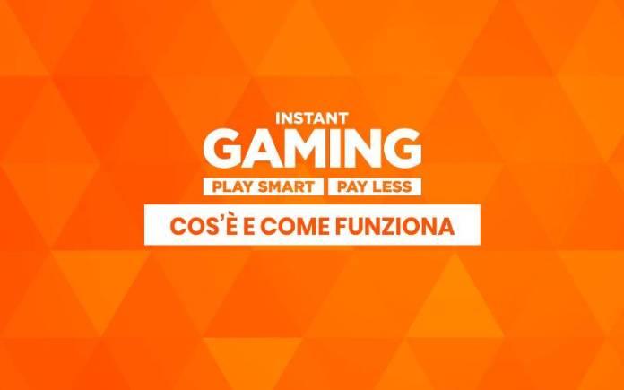Instant Gaming videogiochi