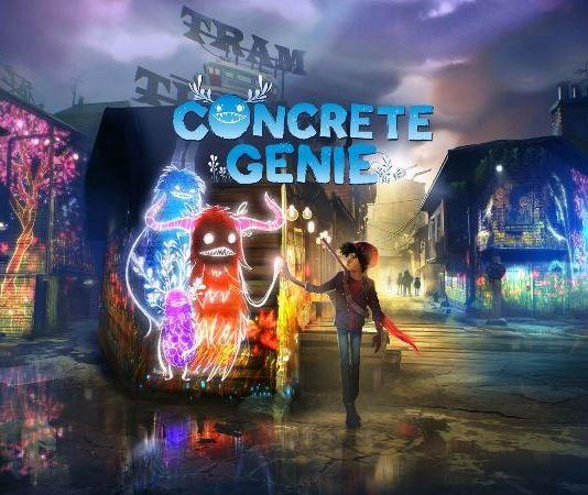 Concrete Genie gameplay