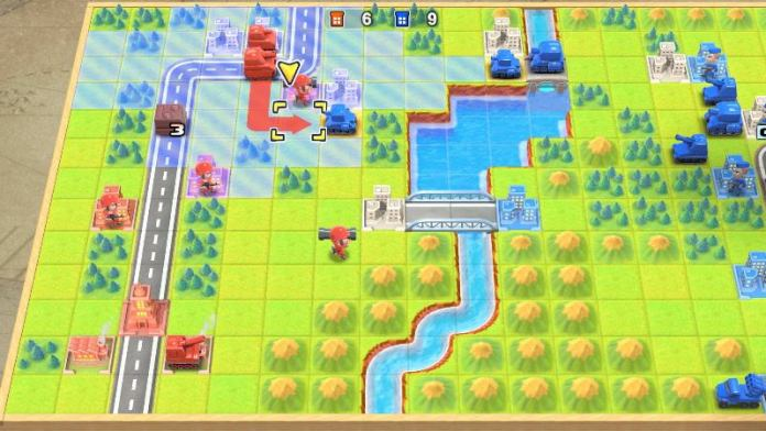 Advance Wars 1+2 Re-Boot gameplay