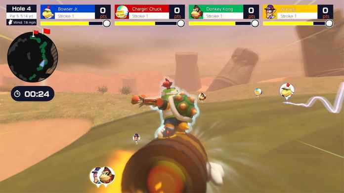 Mario Golf: Super Rush's Speed Golf Mode Looks Chaotic In The Best Way