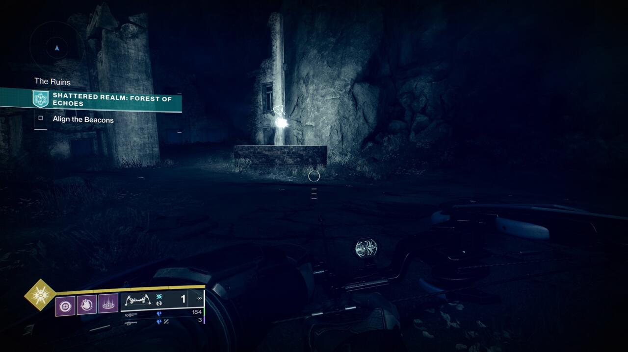 Find and destroy all the Taken Blights in the area around the second beacon to clear the way into the well. Toland will mark it for you.