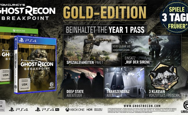 Tom Clancy S Ghost Recon Breakpoint Gamestop At
