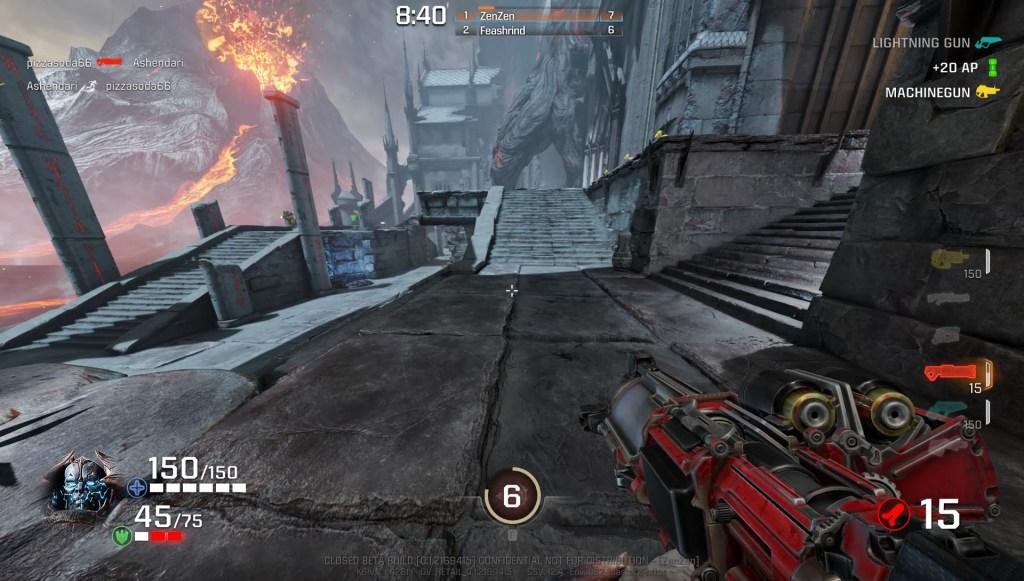 Quake Champions, le retour dans l'arène