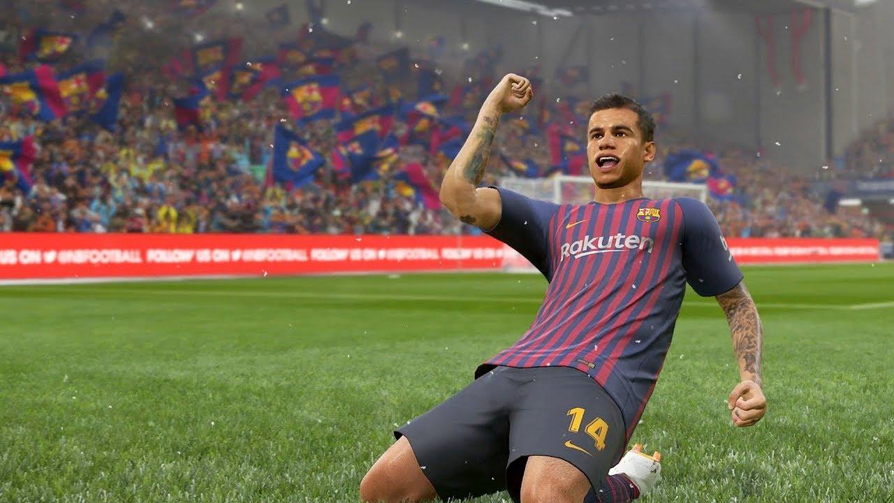 PES 2019 Coutinho  stato scelto come atleta sulla copertina