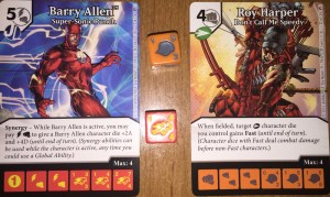 """The latest Dice Masters set includes cards from the popular Green Arrow and Flash series."""