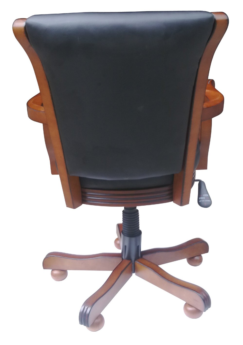 cheap rolling chairs armchair tray table chair conversion convert your caster into non chairconvers 671 detail jpg
