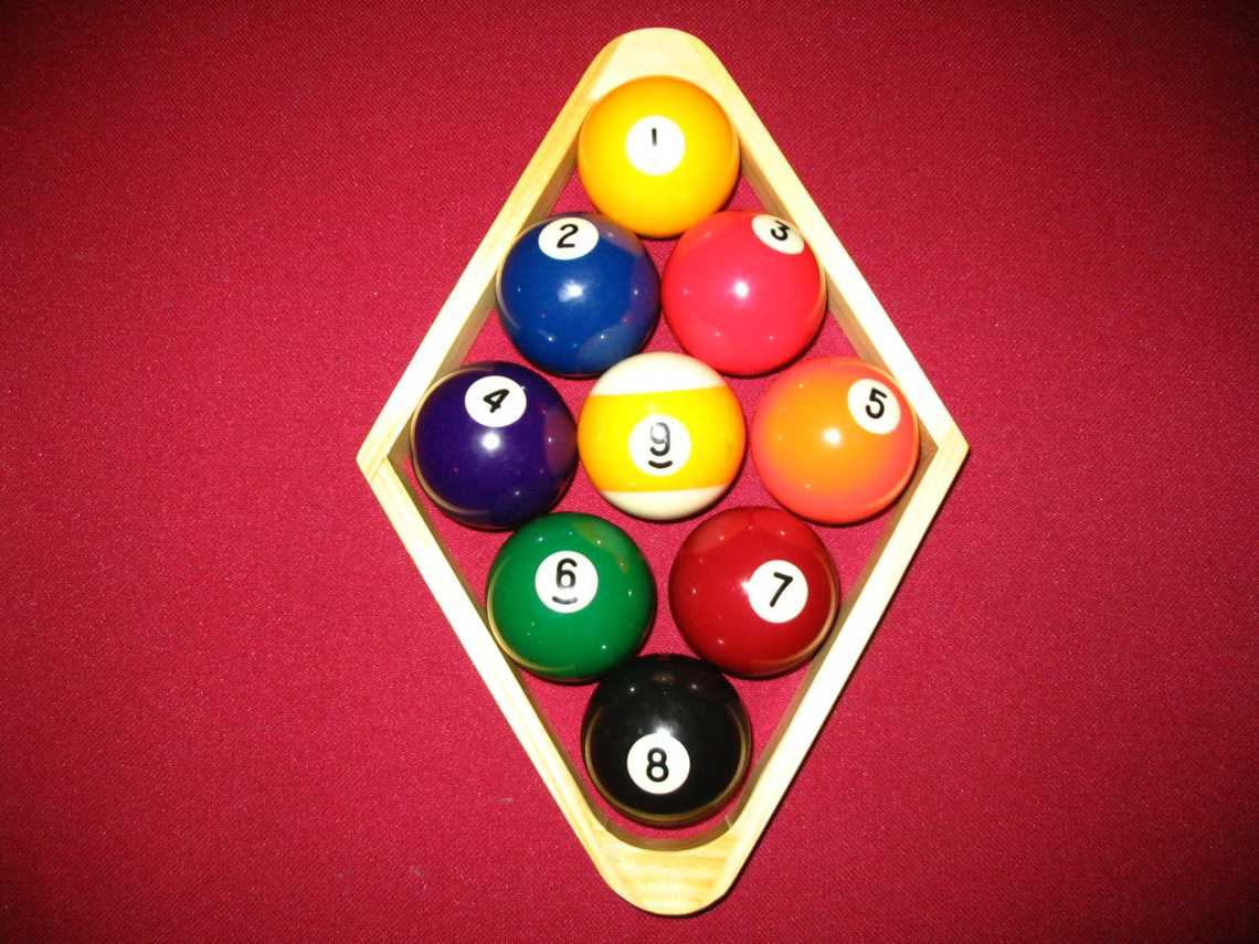 Image Result For Correct Way To Rack Pool