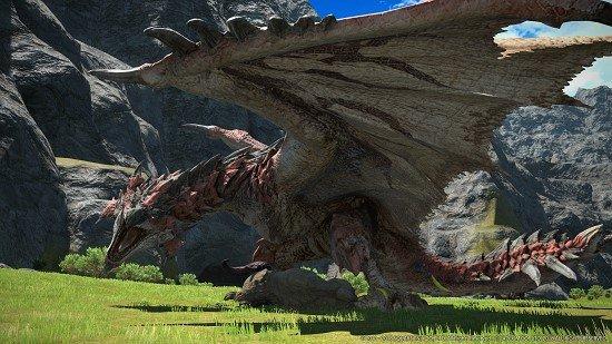 Final Fantasy x Monster Hunter