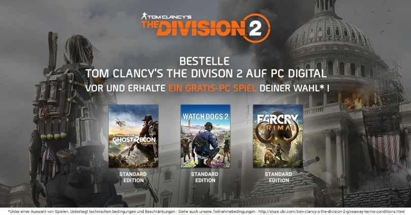The Division 2 Preorder