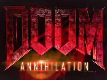 Doom Annihilation Logo Artwork