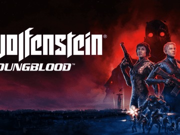 Wolfenstein Youngblood Logo Key Art