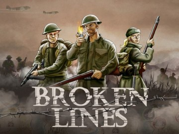 Broken Lines Key Art