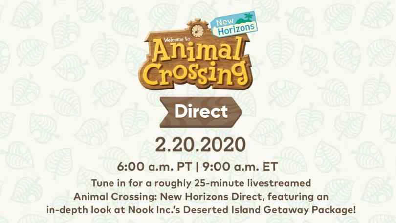 Animal Crossing: New Horizon