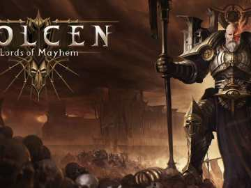 Wolcen Lords of Mayhem Logo Keyart