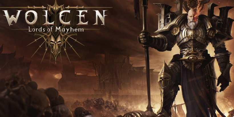 Wolcen Lords of Mayhem Logo Keyart