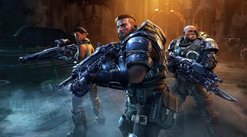 Gears Tactics Squad Artwork