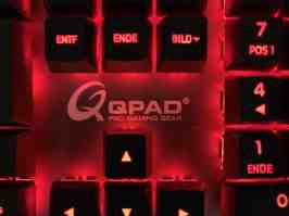 QPAD MK-95 Gaming Keyboard