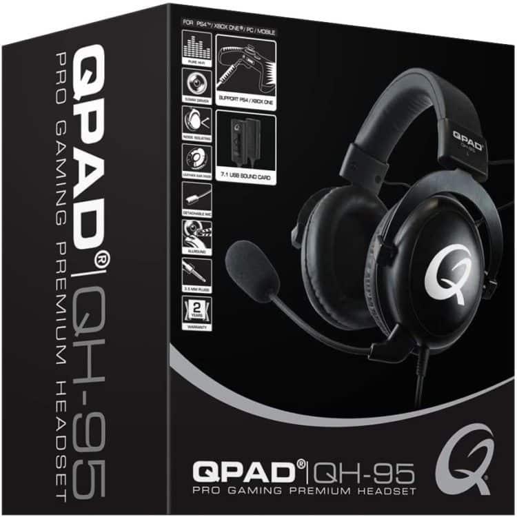 QPAD QH-95 Pro Gaming Headset Karton